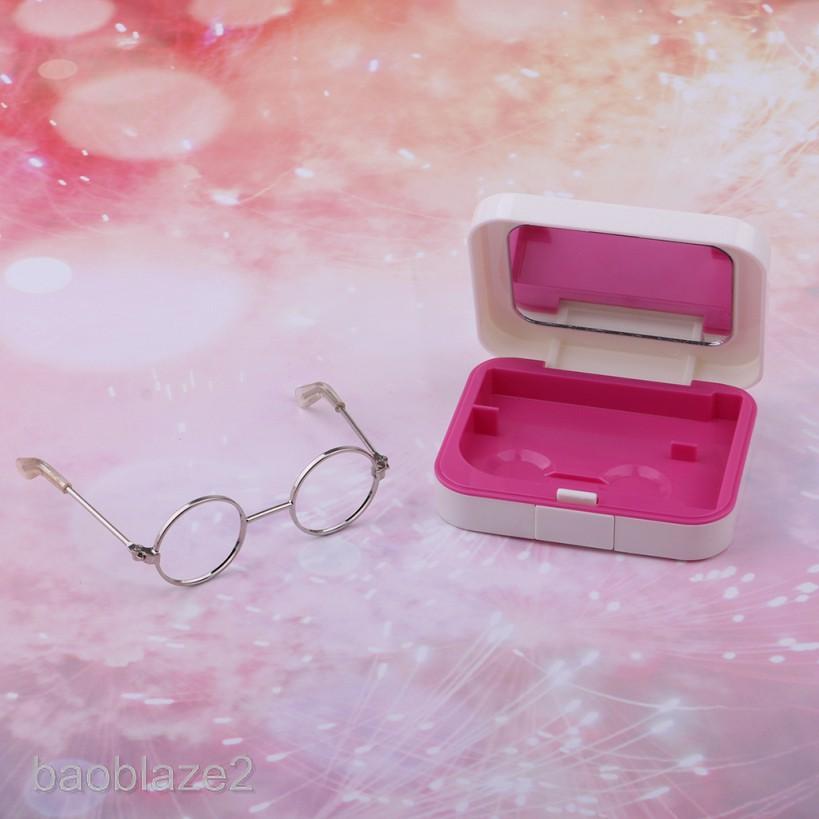 1//3 BJD Hippy Round Glasses Eyewear for Dollfie Dress-up Clothing Accessory