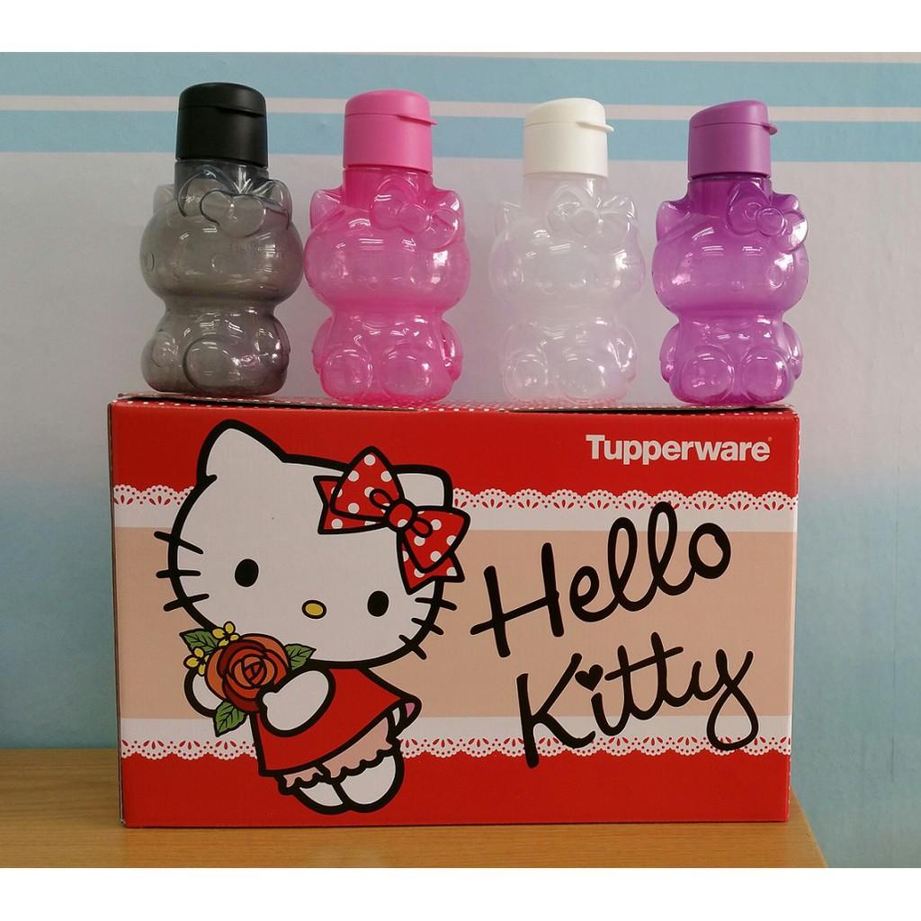 9d8c8dc00 100% Original Tupperware Kitty Eco Bottle Set (4) 425ml - 1 Set 4 Units    Shopee Malaysia