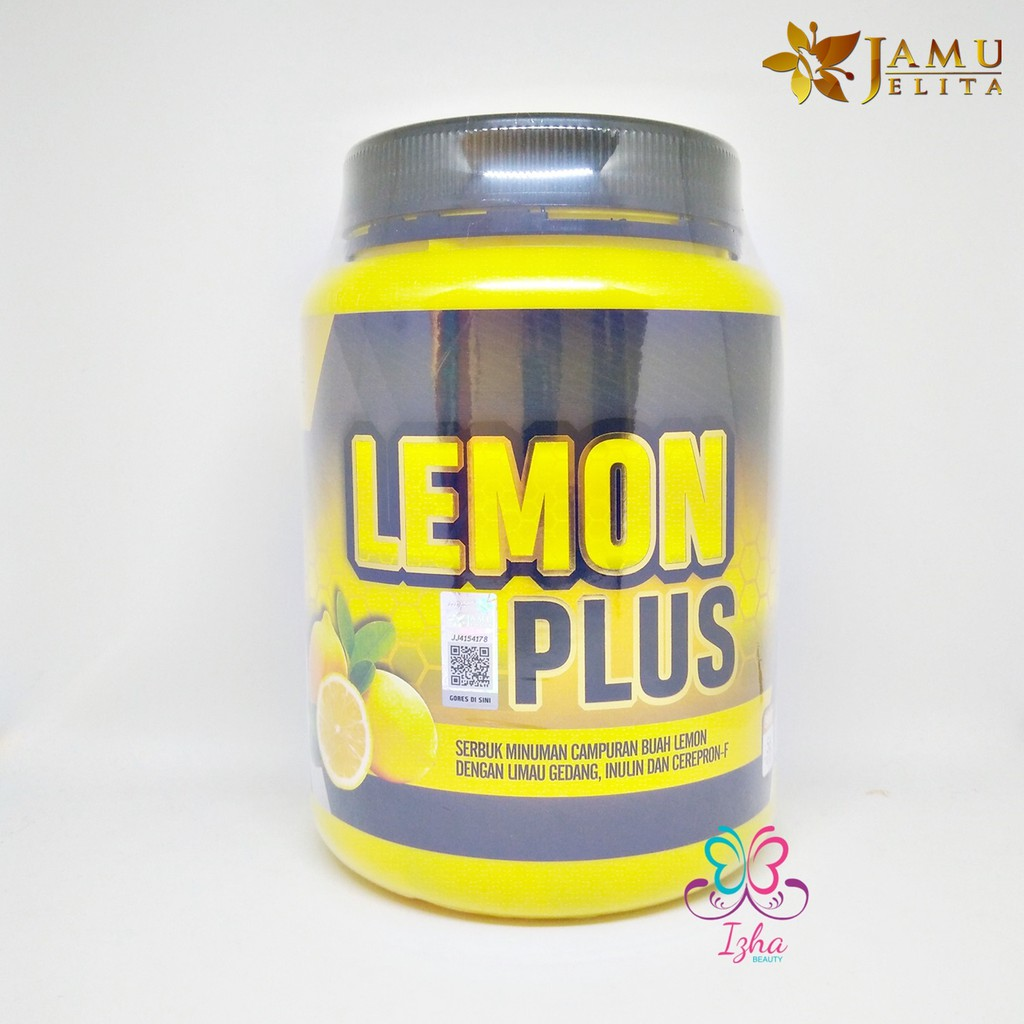 [JAMU JELITA] Lemon Plus - 20 sachet x 15g