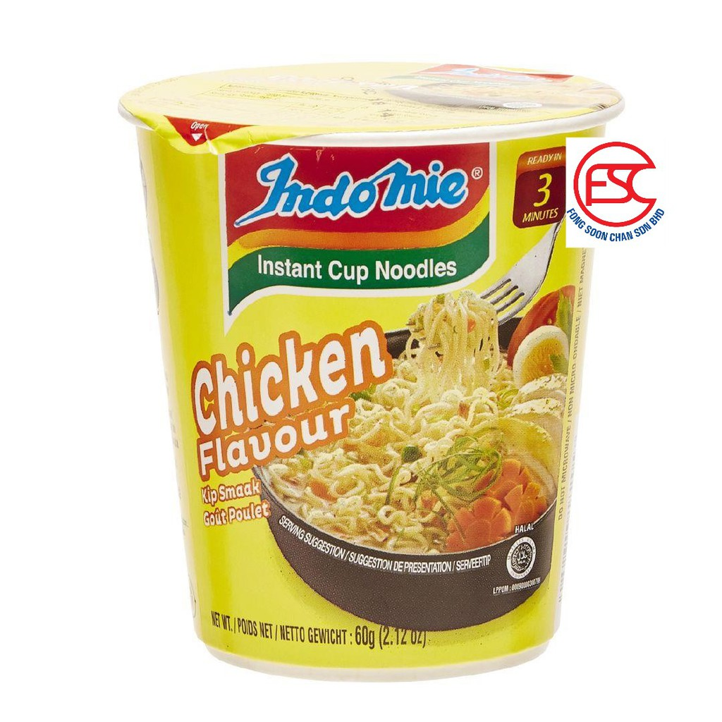 [FSC] Indomie Mi Soup Chicken Cup Noodle 6cup x 60gm