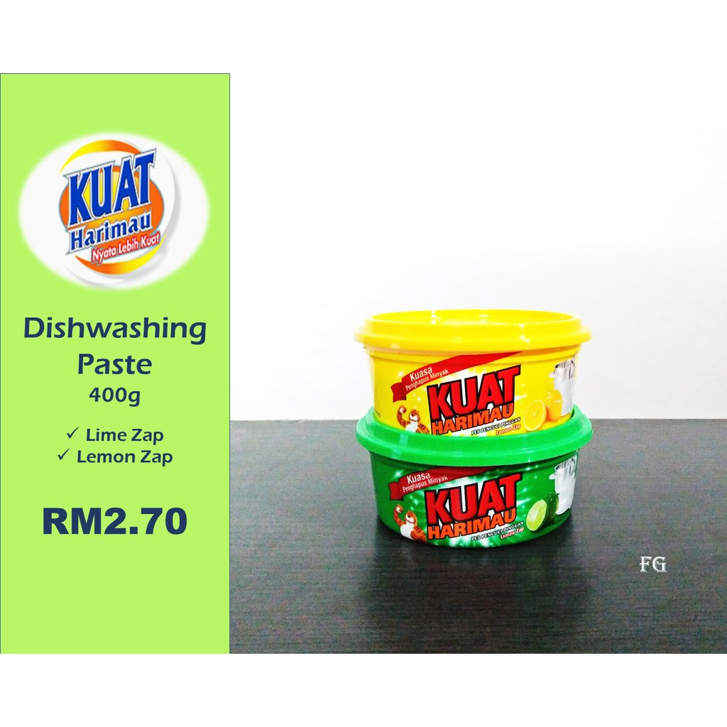 Kuat Harimau Dishwashing Paste 400g