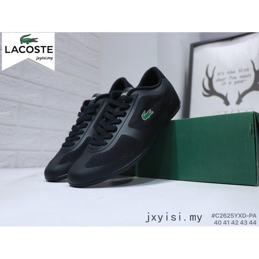 329571f1f LACOSTE crocodile white mesh casual men s sports shoes 40~45 ...