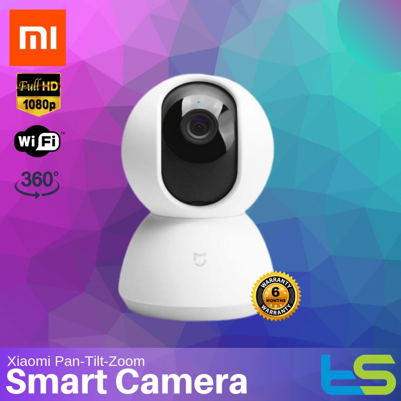 Xiaomi Mijia 360° Smart Dome Camera IP Cam 1080p WiFi, PTZ, IR Night vision