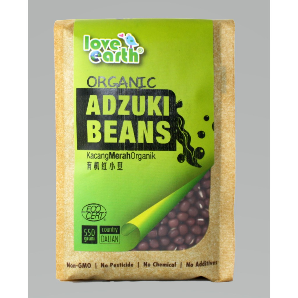 Organic Red Bean 550g