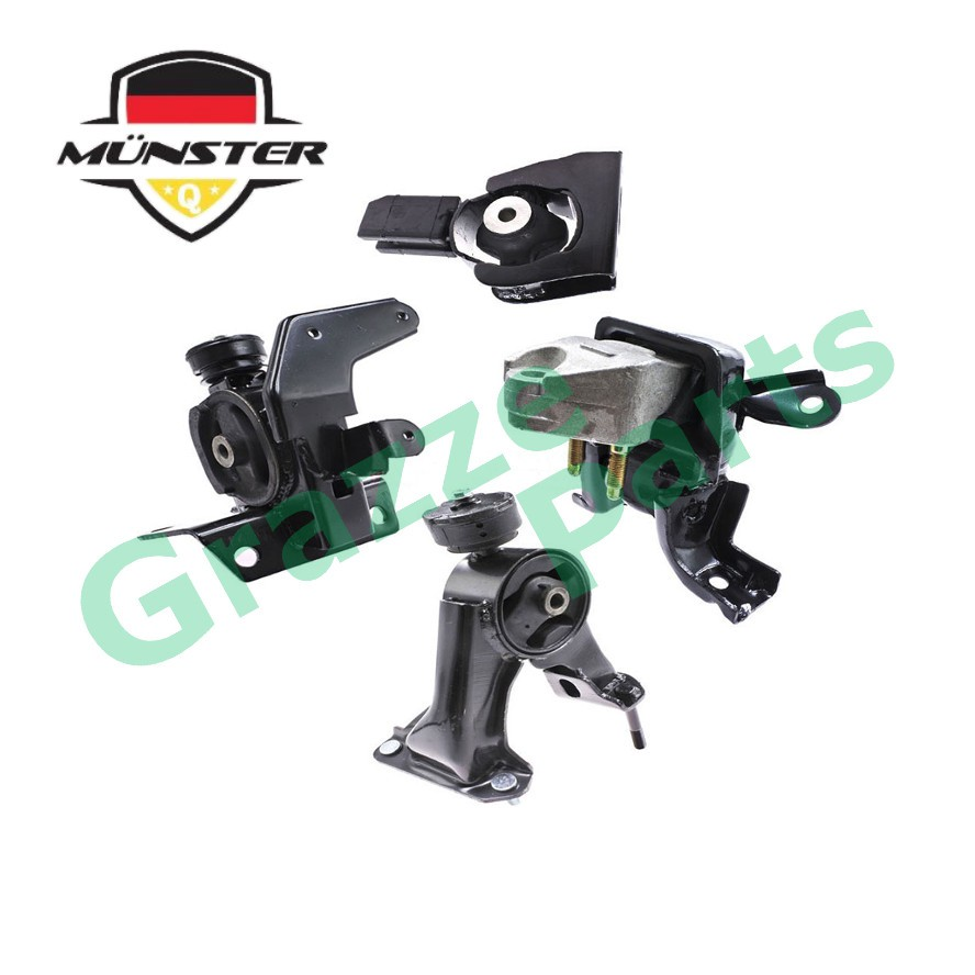 Münster TOY2014 Engine Mounting Set Toyota Altis ZZE141 ZZE142 Auto Transmission