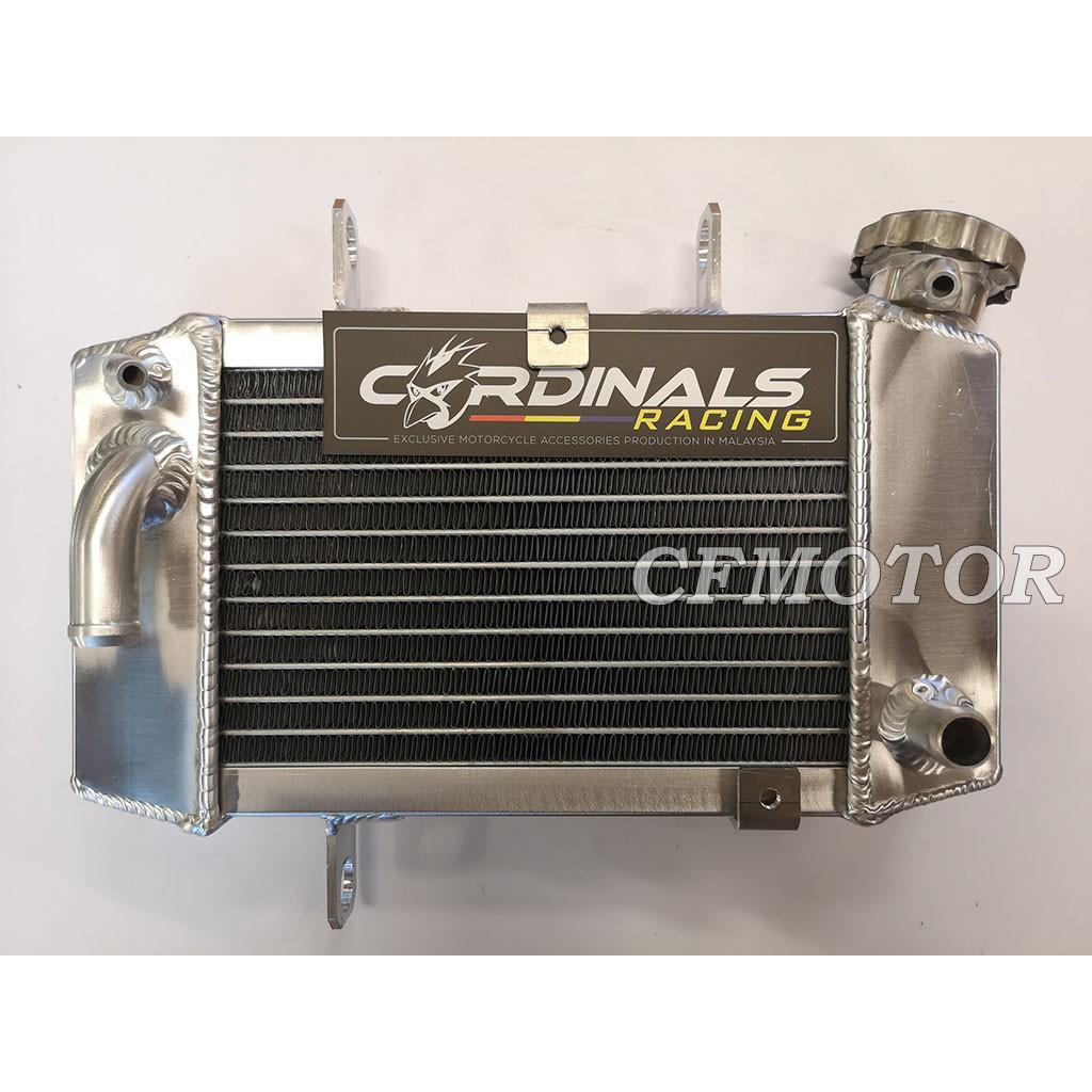 CARDINALS RACING RADIATOR TANK ALUMINIUM (500ml) - Y15 / LC135 / RS150 /  NMAX
