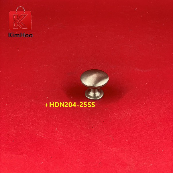 KIMHOO High Quality Stainless Steel Furniture Cabinet Knob +HDN204-25SS