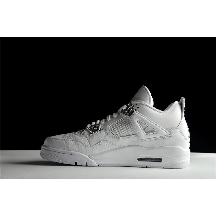 Original Authentic Nike Air Jordan 4 Pure Money AJ4 Pure silver white.  308497-10  8cdea2cae