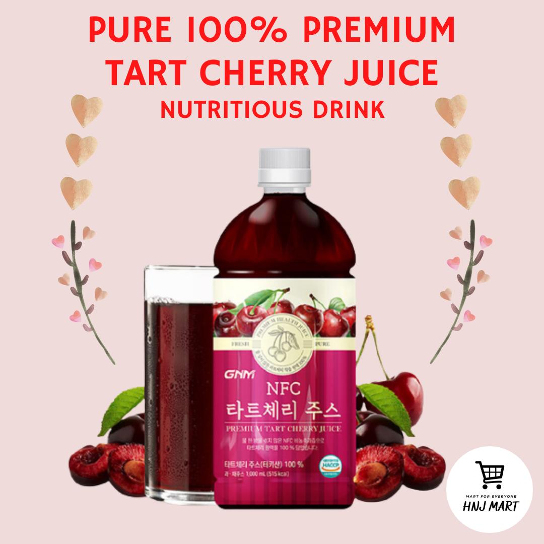 Korea Tart Cherry Juice 1000ml Organic 蒙特罗西酸樱桃果汁 1000ml