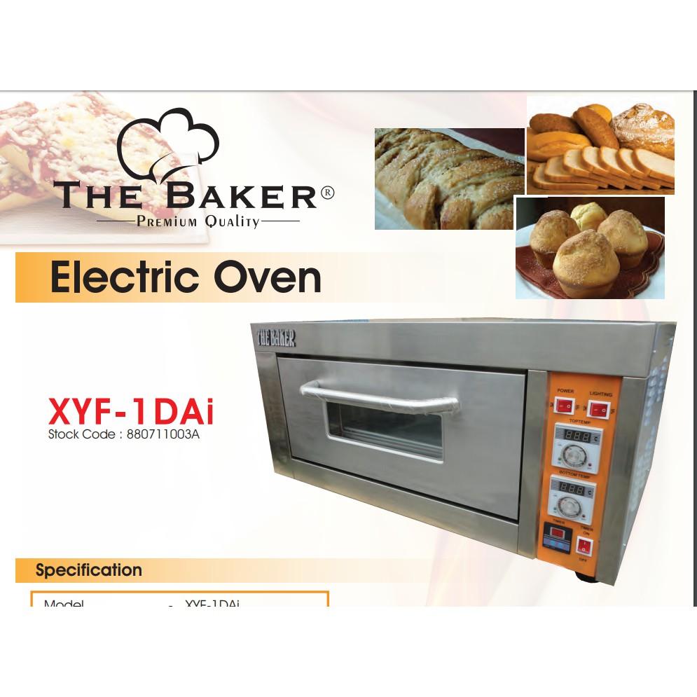 THE BAKER FRESH 1LAYER 1TRAY DISH INDUSTRIAL ELETRIC OVEN XYF-1DAi YXD-10SS YXD-10DI GOLDEN BULL OKAZAWA INNOFOOD ORIMAS