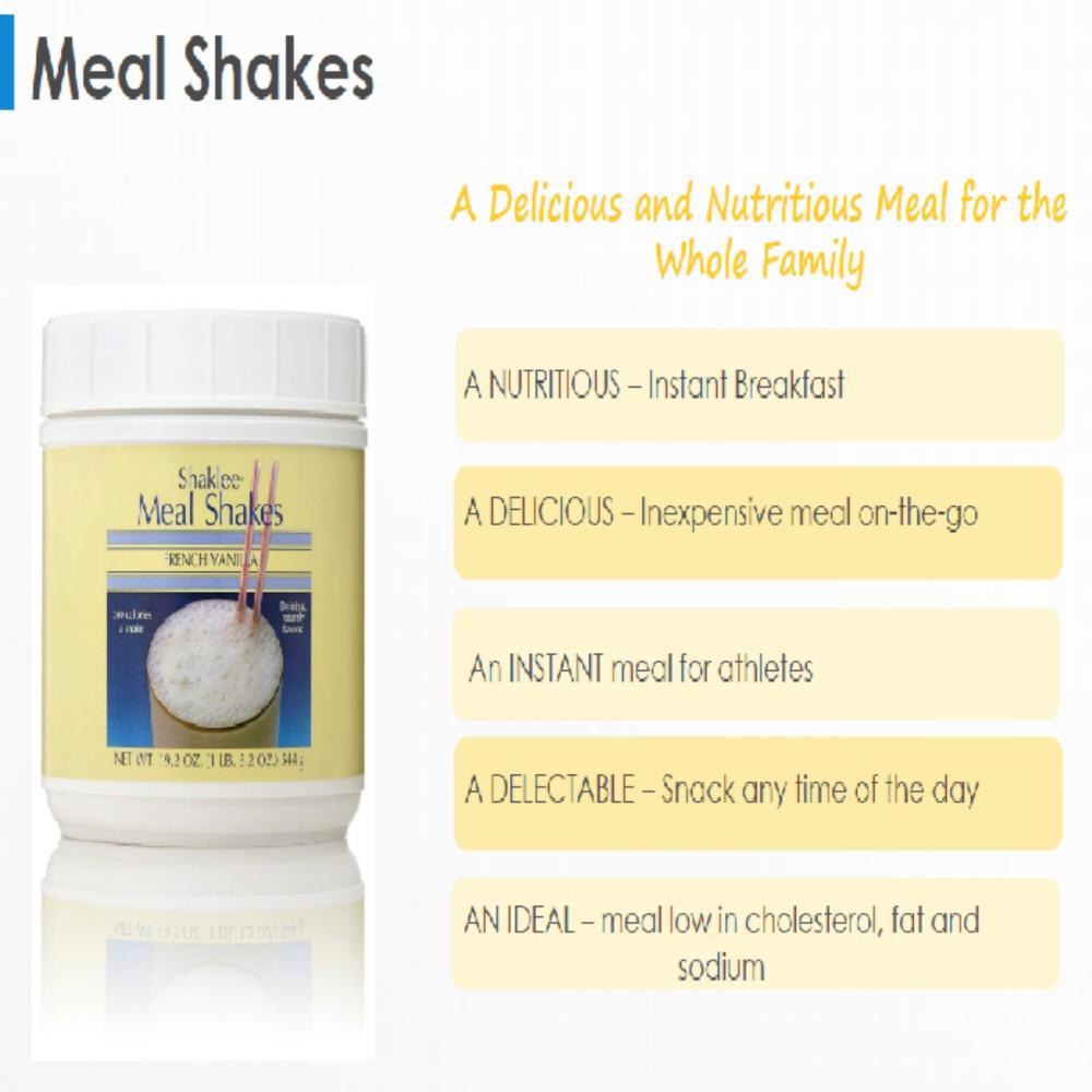 Shaklee Meal Shake Powder French Vanilla 544 G X1 Kid Meal Shakes