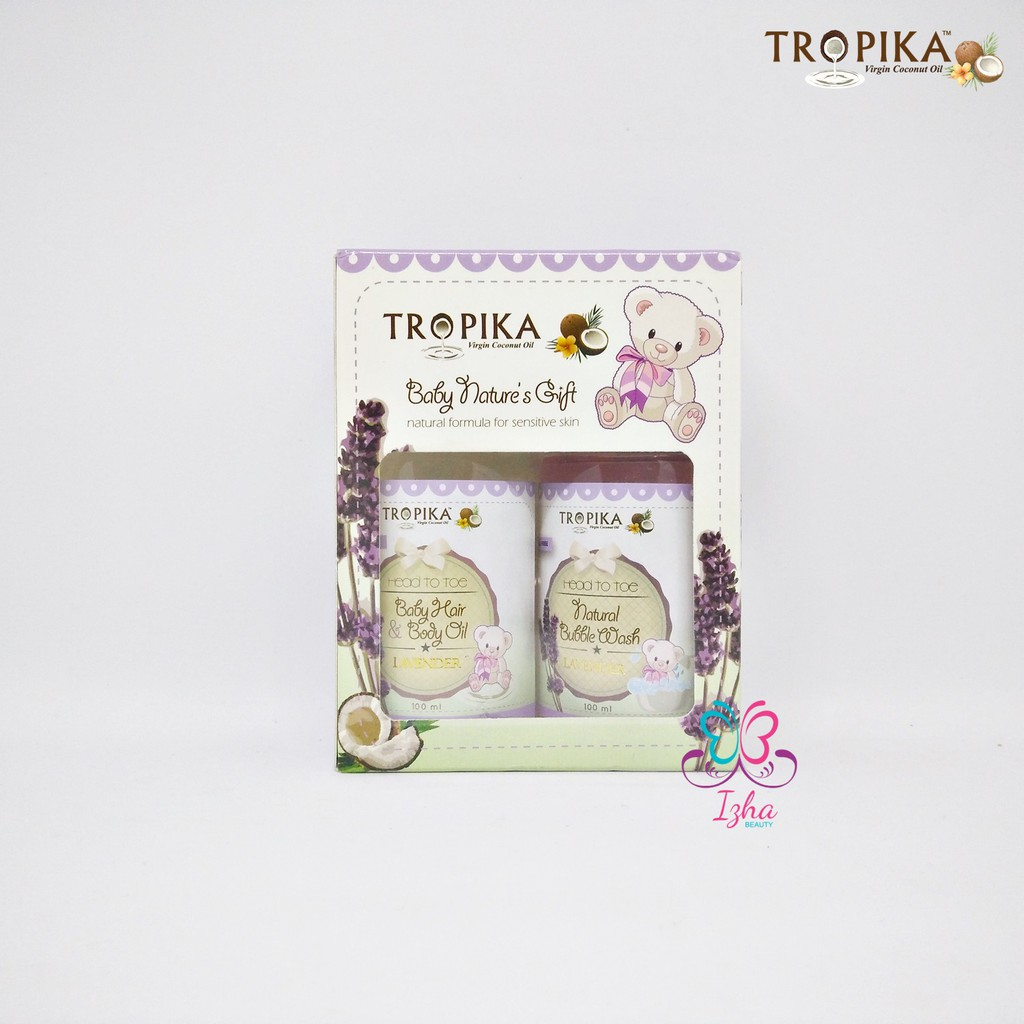 [TROPIKA BEAUTY] Baby Nature\'s Gift 2in1 (Lavender) - 100ml each