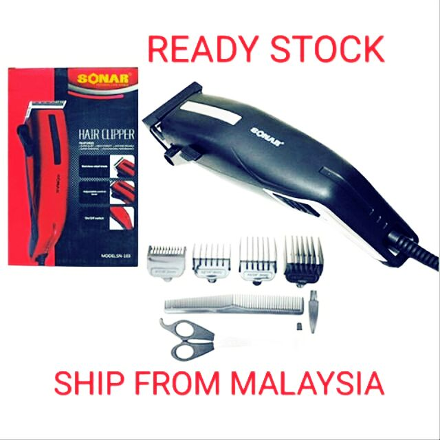 Sonar SN-103  hair clipper man 3-12mm cutting blades professional use easy to use