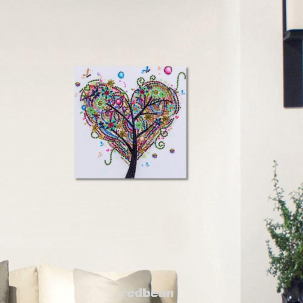 DIY Rhinestone Diamond Painting Embroidery Cross Stitch Craft Hanging Home Decor