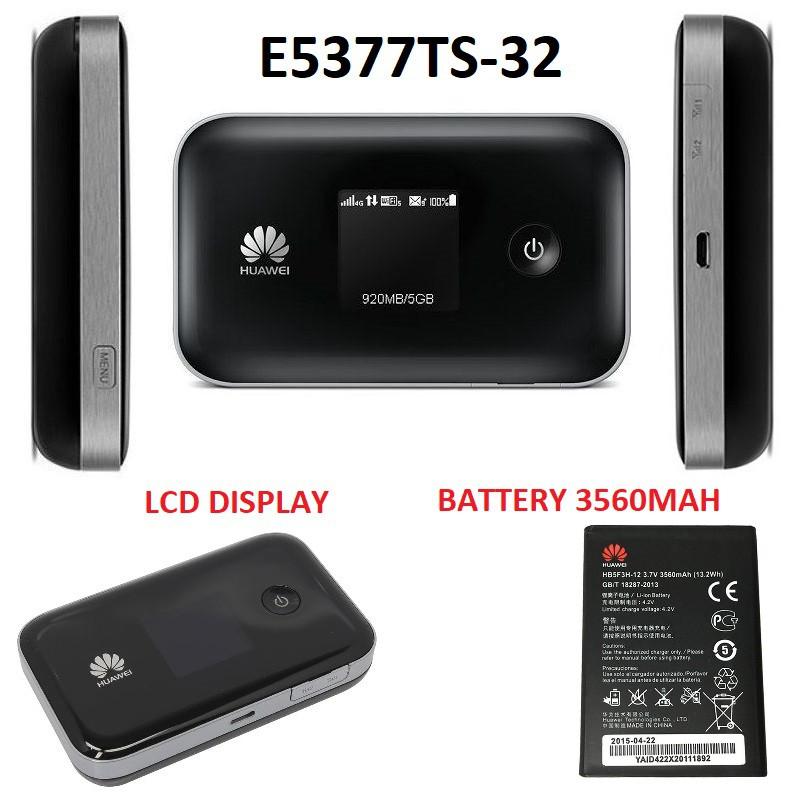 ⭐HUAWEI E5577 S321 3000mah | E5377TS32 3560mah 4G 3G 150mbps Portable Modem  WIFI
