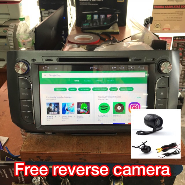 Alza 9inch Android Double Din DVD player GPS TV Wifi USB BLUETOOTH
