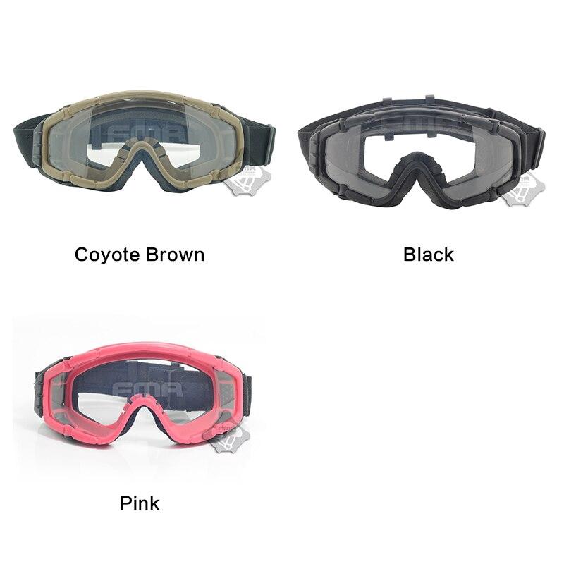 FMA SI-Ballistic Airsoft Goggles Updat Fan Version Safety Glasses Anti-fog Dust