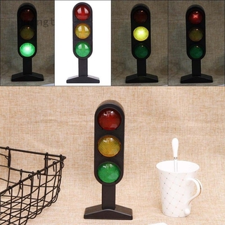 None Picture Color-Contraband chungeng Cost-effective Miniature Plastic Road Street Traffic Light Sigh Model Kids Role Play Toy 1pc