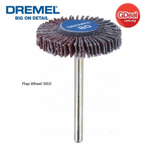 Dremel 422 Flet Polishing Wheel 10mm New