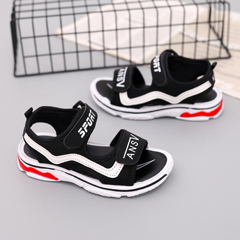 a1055fc06010b kids sandals✱ஐBoy Sandals Baby Man 2-3-4-year-old child Baotou Xia  children s s