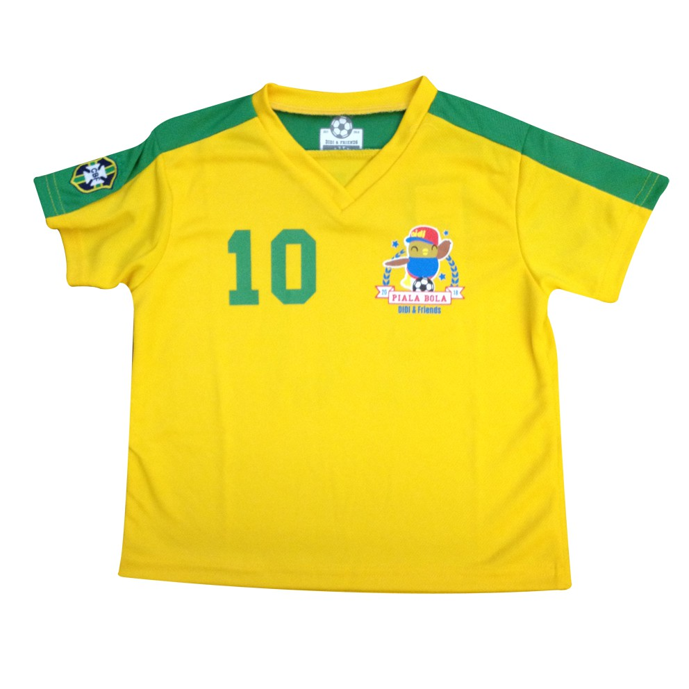 detailed pictures c230a 16bba Didi & Friends Jersey Tee - Brazil x Didi
