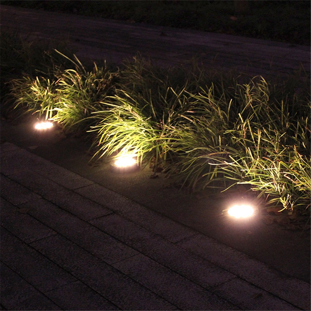 Solar Led Outdoor Path Light Spot Lamp