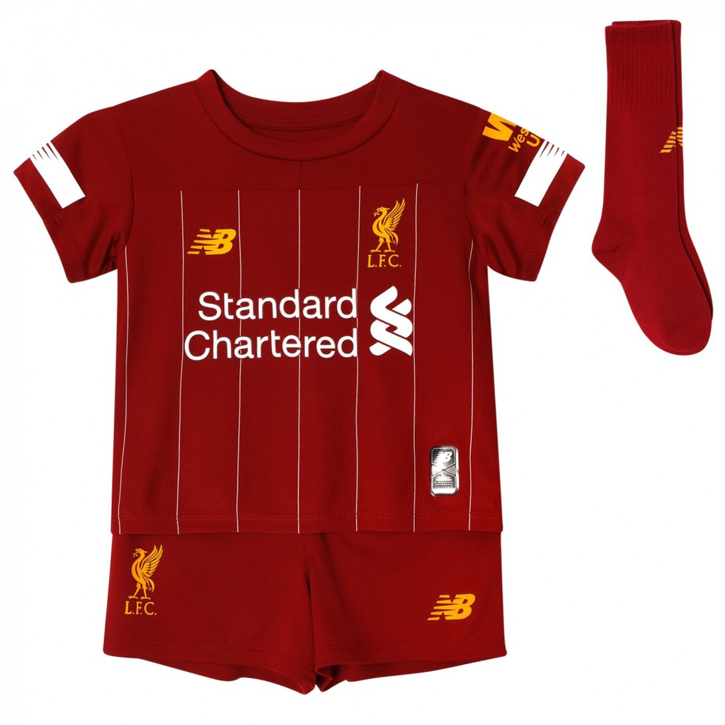 2019/2020 Liverpool  kids Home football soccer kit jersey un