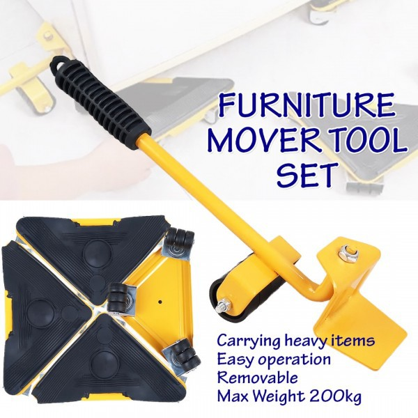 FM200K Furniture Mover Tool Set Transport Lifter Movers Lifting Tools