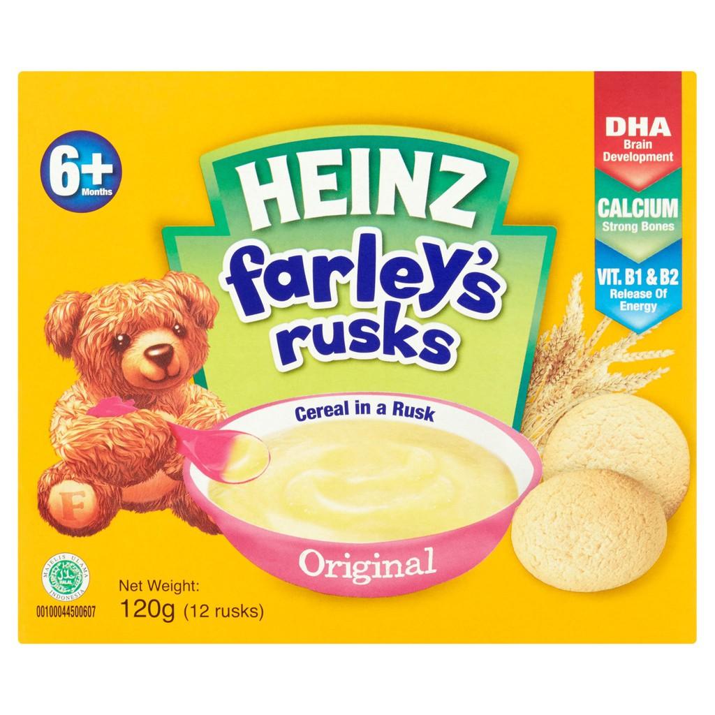 Heinz Farleys Baby Rusk - Original (120g)