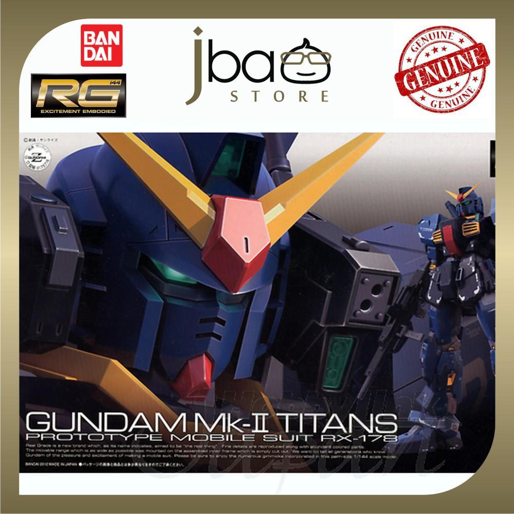 Bandai 1/144 RX-178 Gundam MK-II Titans Real Grade RG 07 Mobile Suit