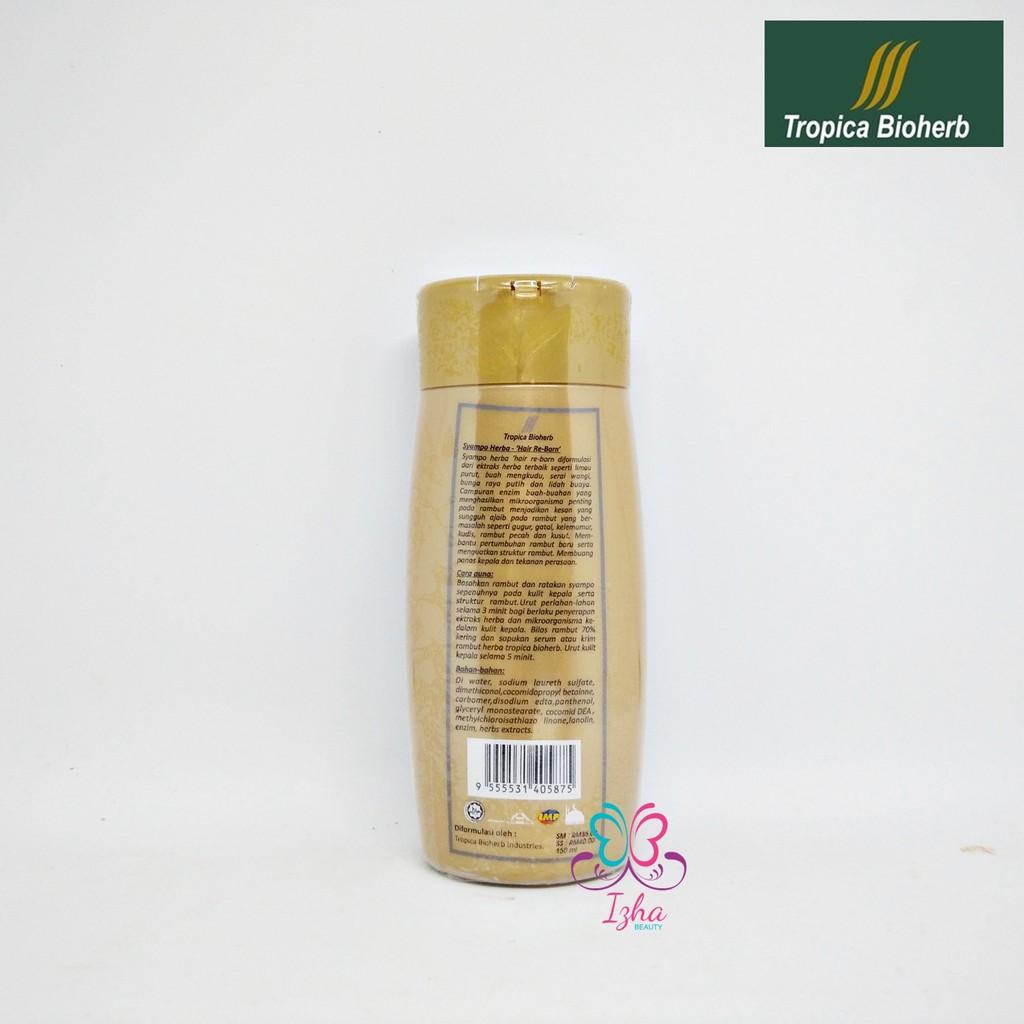[TROPICA BIOHERB] Syampo Herba (Hair Re-Born) - 150ml