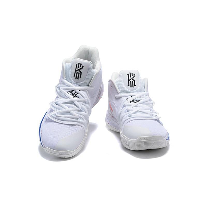 Nike Kyrie 5 mens basketball shoe-white