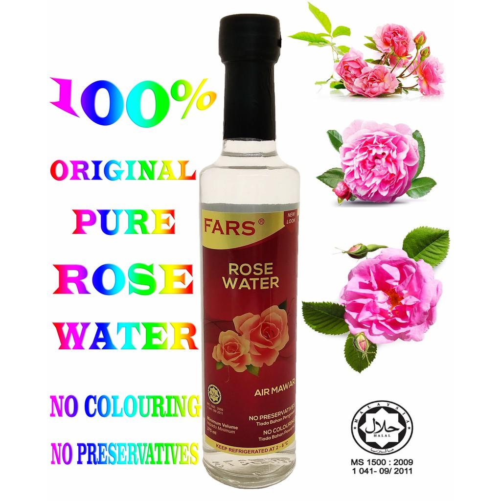 PURE ROSE WATER  375ML