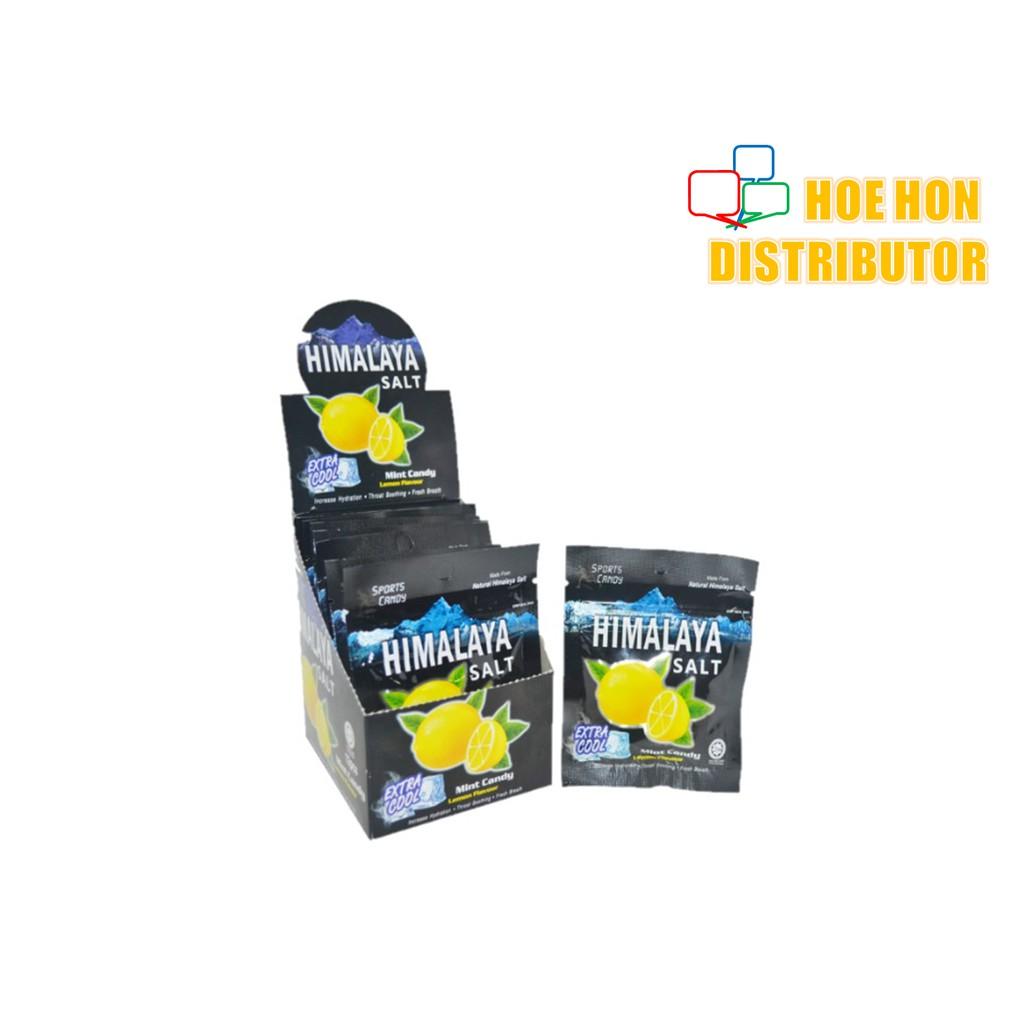 Himalaya Salt Extra Cool Mint Lemon Flavour Sport Candy 15g [HALAL]