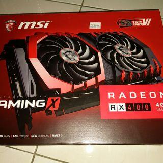 MSI Radeon RX480 4GB GDDR5 Gaming X