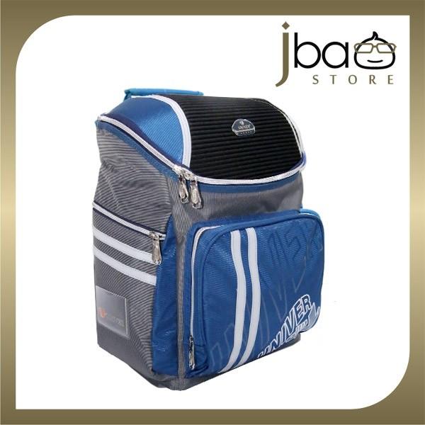 Univer School Bag Student Lightweight Backpack (Dark Blue)