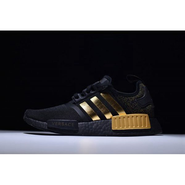 nmd r1 black and gold