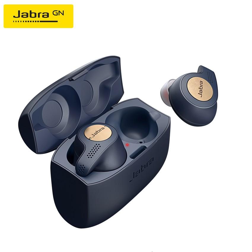 Jabra Elite Active 65t True Wireless Earbuds Bluetooth - Copper Blue