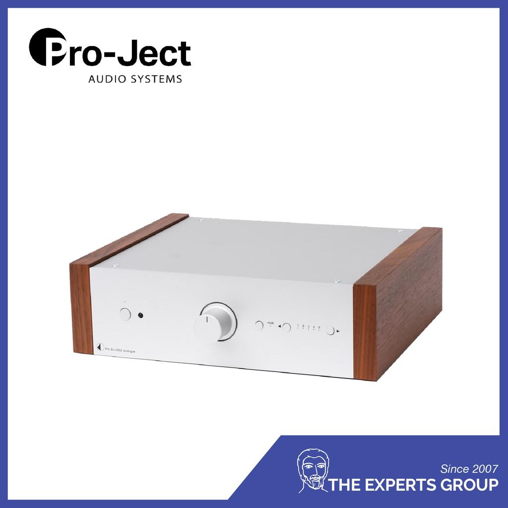 Pro-ject Pre Box DS2 Analogue (Silver+Rosenut)