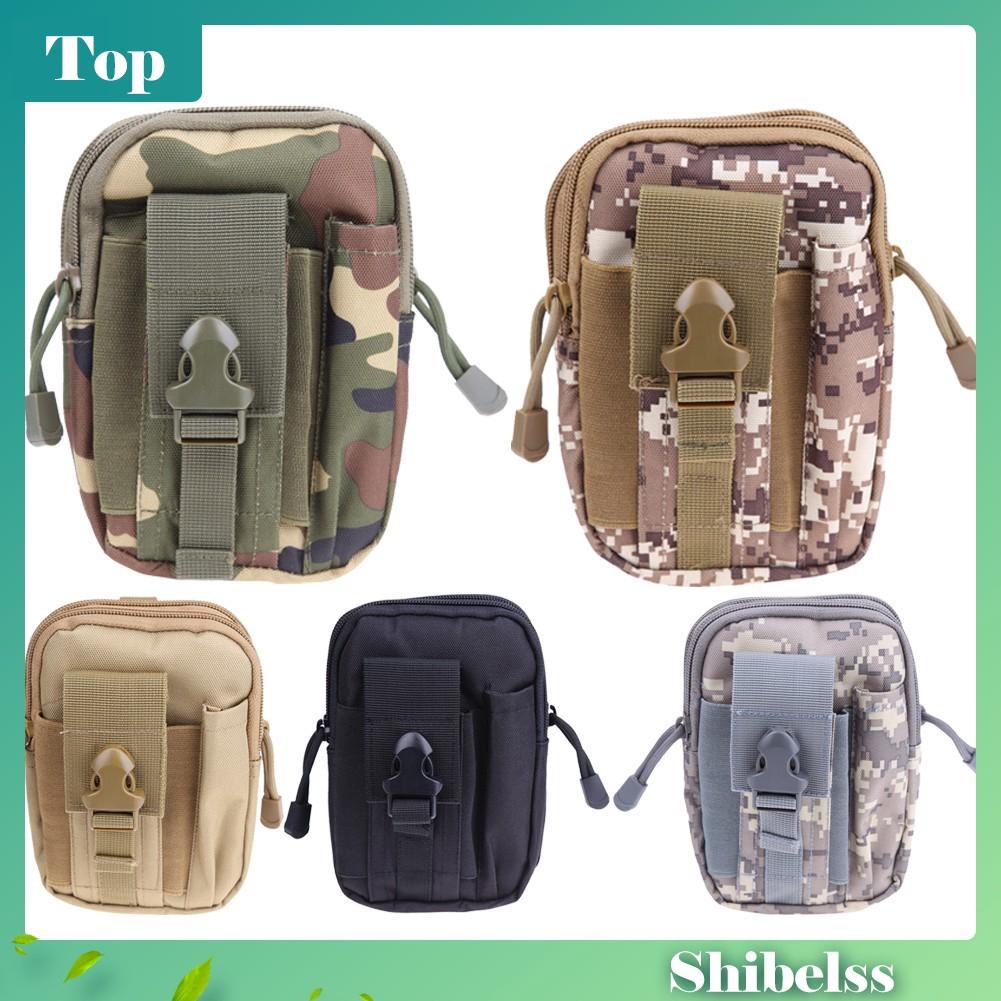 e78d7f6e159d Tactical Molle Pouch Belt Waist Pack Bag Small Pocket Military Waist Pack  Shib