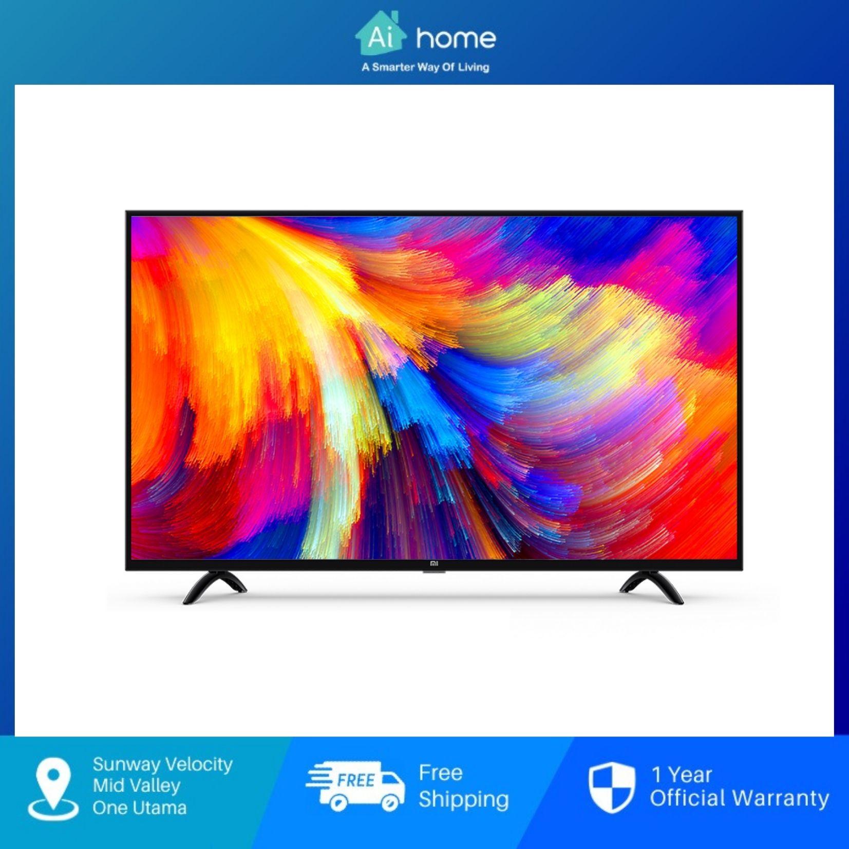 "Mi [ Smart TV ] 4S 55"" with 1 Year Malaysia Warranty [ Ai Home ]"