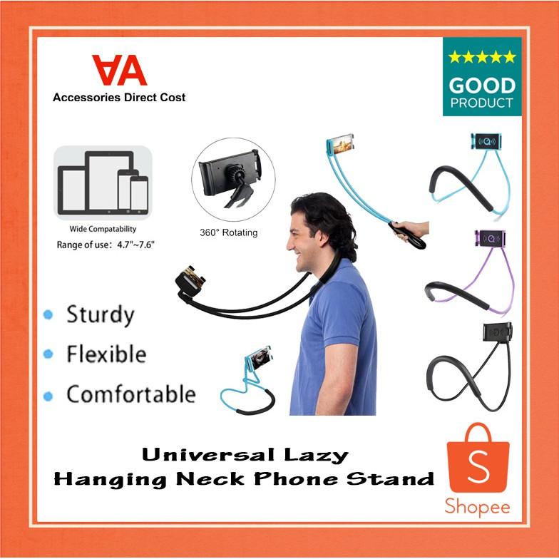 360 Degree Multi-angle Flexible Lazy Neck Phone Bracket Mount Holder Smartphone