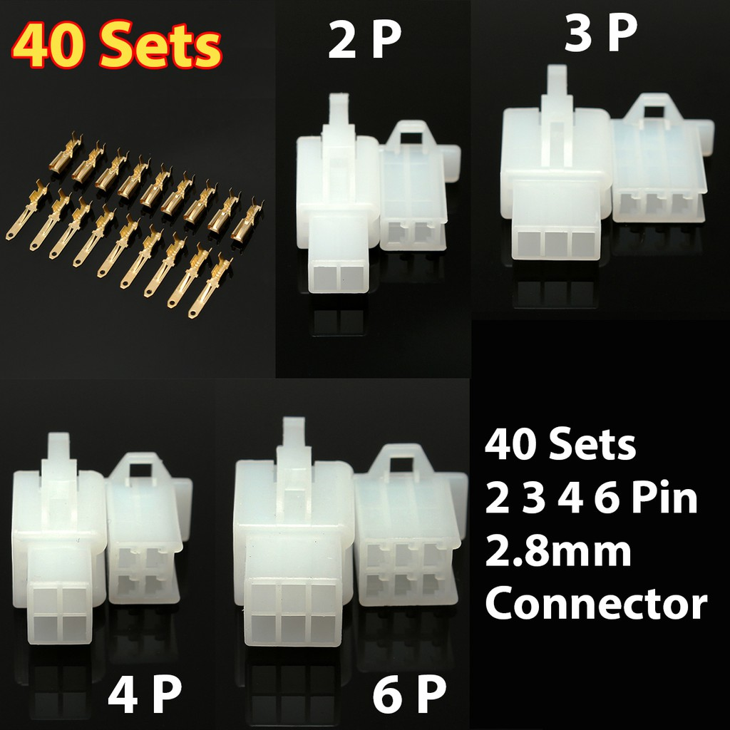 Wire Connector Others Online Shopping Sales And Promotions About 10 Kit 4 Pin Way Waterproof Electrical Plug Automotive Nov 2018 Shopee Malaysia