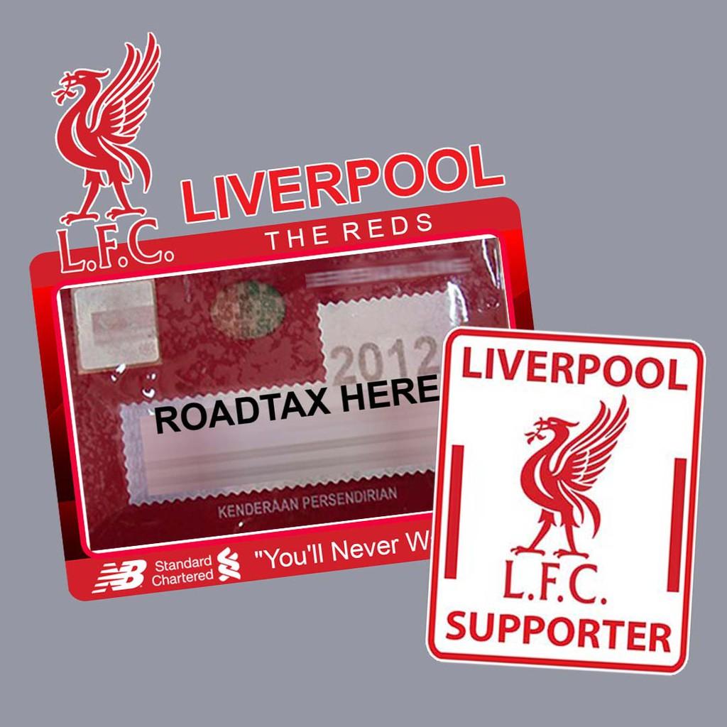 Car sticker liverpool set shopee malaysia