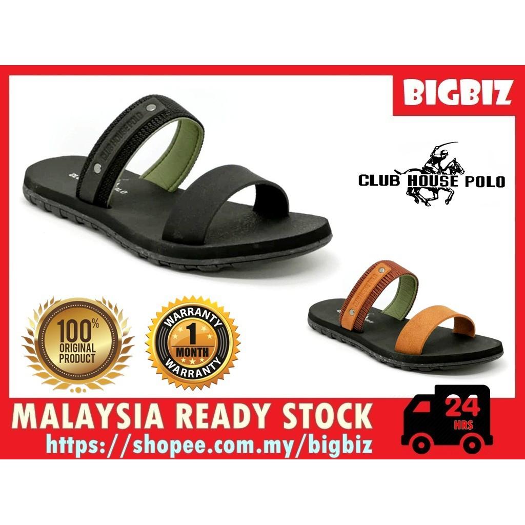 Malaysia Reday Stock Original Club House Polo Men Sandals