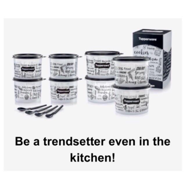 Tupperware Trendz Kitchenette Set (full)