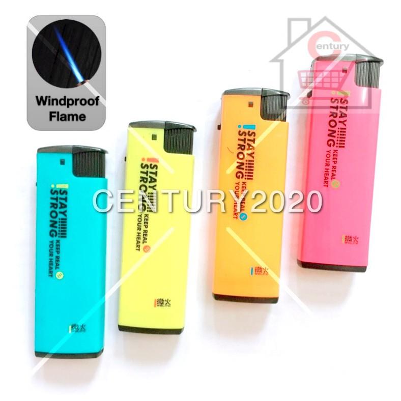 WELITE Lighter Colorful Design Windproof Jet Flame Refillable Gas Lighter 1pcs