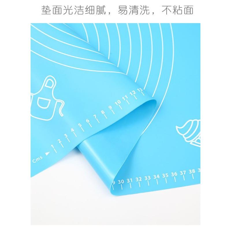 READY STOCK #厨房烘焙工具50*40cm ,64cm*45 烘焙垫硅胶揉面垫面粉垫隔热垫西餐垫 硅胶垫