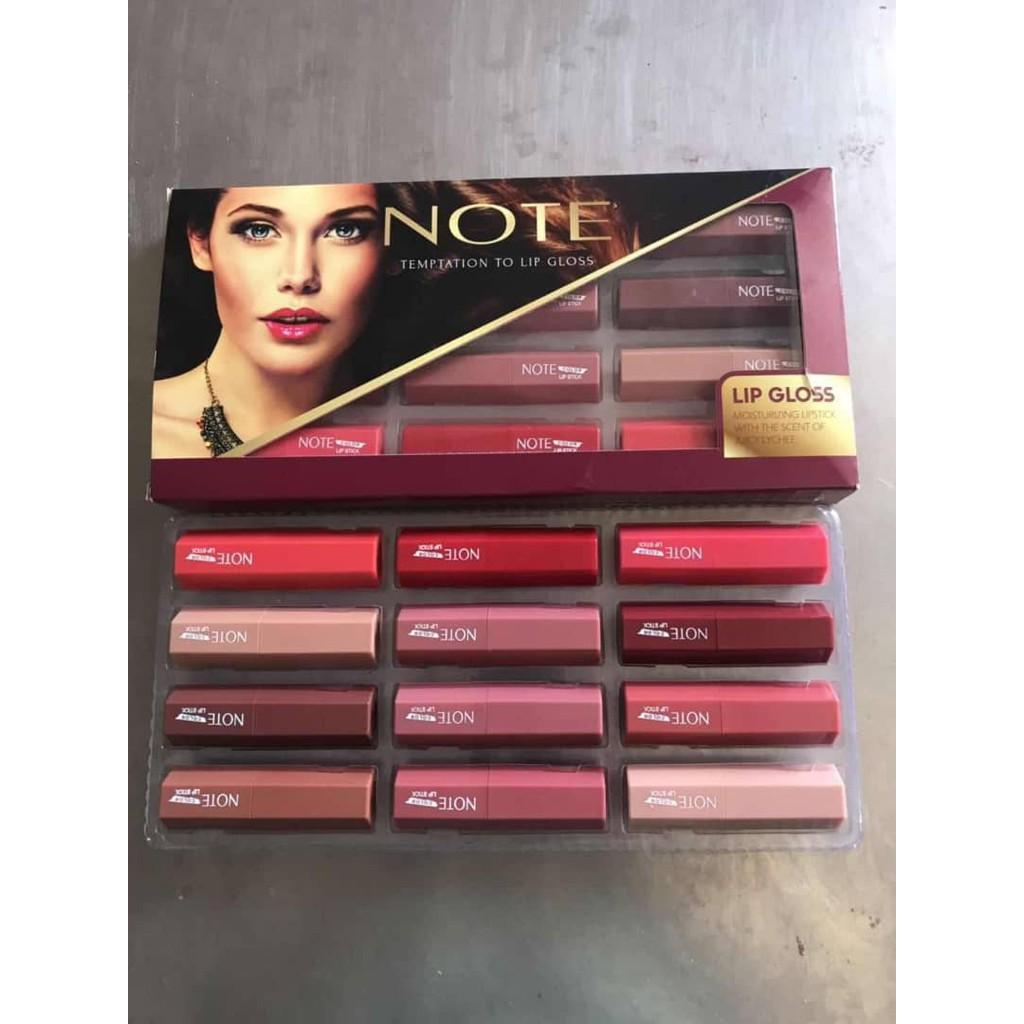 NOTE matte lip gloss lipstick 12 in 1 - Auhentic Reject