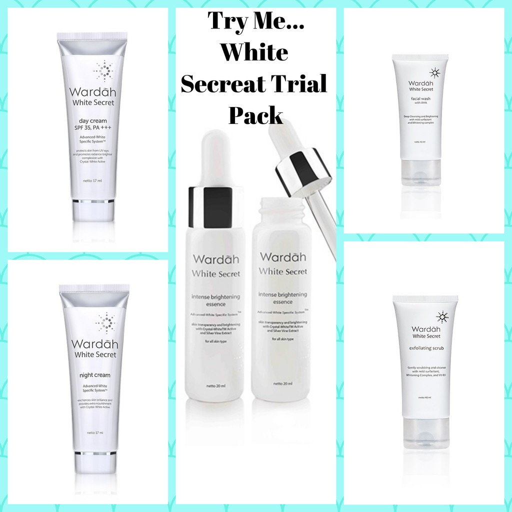 Wardah White Secret Facial Wash W Aha Shopee Malaysia With Natural 100 Ml